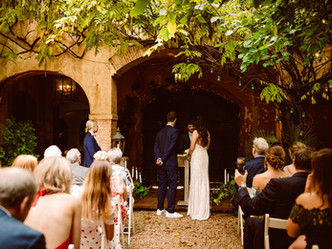 Barcelona wedding destination, A&P from Wales to Sitges