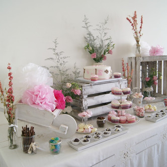 ¡Mesa dulce para un bautizo!