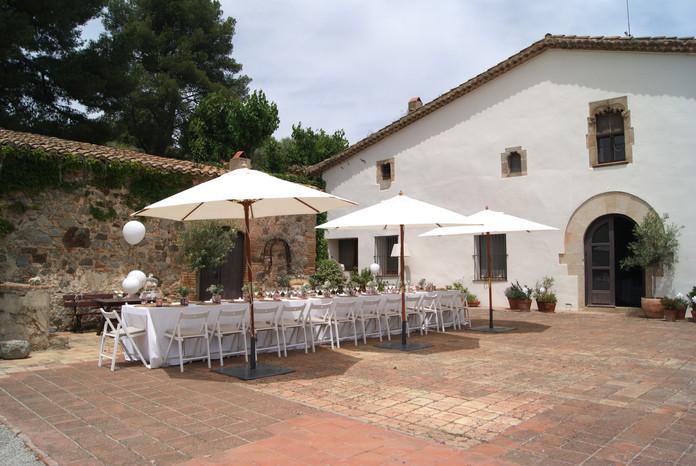 Catering para la comunión de Martina en Barcelona