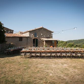 La boda rural de M&A en su masia privada