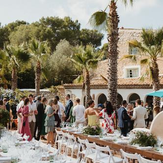 Mediterranean wedding at Mas Nur