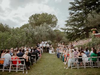 J&N, a perfect summer wedding at Can Borrell