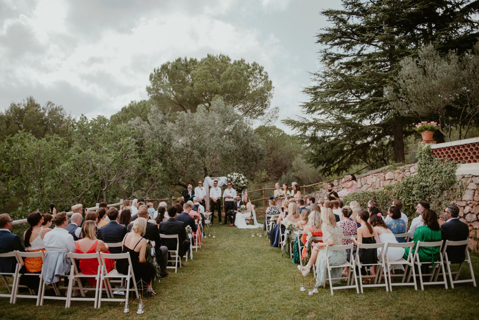 J&N, a perfect summer wedding at Can Borrell