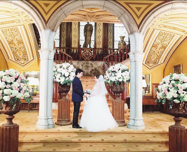 Una tradicional boda rusa en Bell Recó