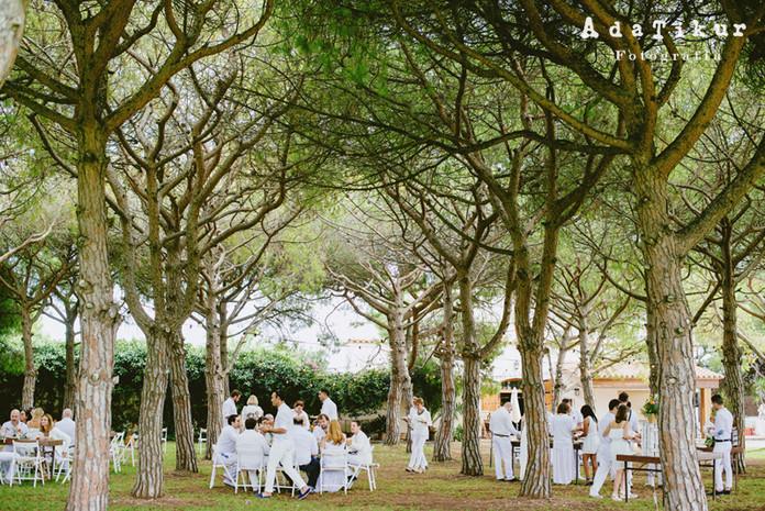 La boda otoñal de Mireia y Verónica en La Sinia del Rei
