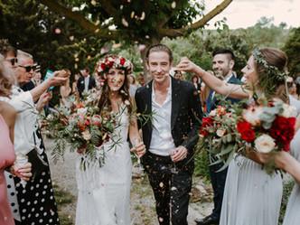 S&S boho wedding at Masia Can Vidal