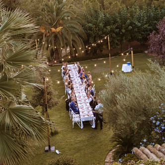 Intimate wedding from Finland at Castell Resort