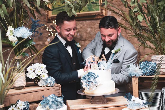 A&D wedding at Masia Notari