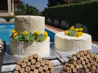 Mesa dulce para boda en Bodegas Vallformosa