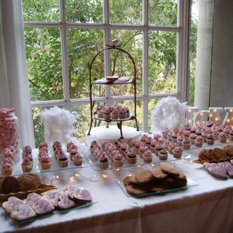 La mesa dulce de Borja y Alba en Masía Mas Solers