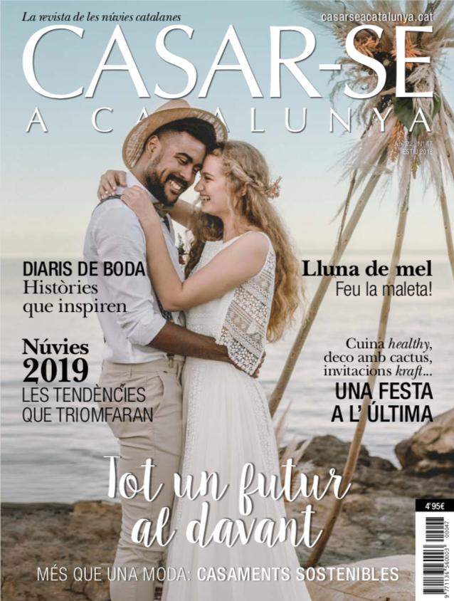 Sibarum Catering en las revistas NOVIAS y CASAR-SE CATALUNYA