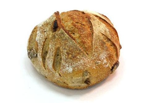 Rogge Rozijnen Noten Brood