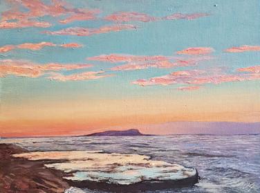 Морской пейзаж маслом Артинтент