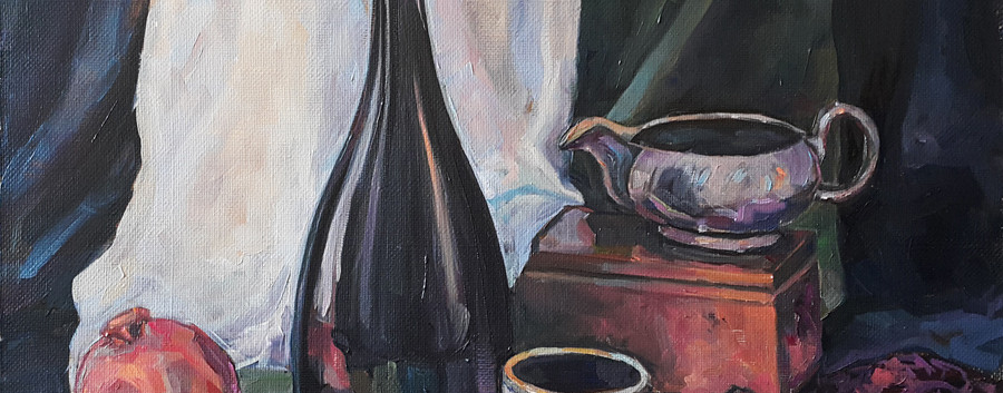 Artintent живопись натюрморт маслом.