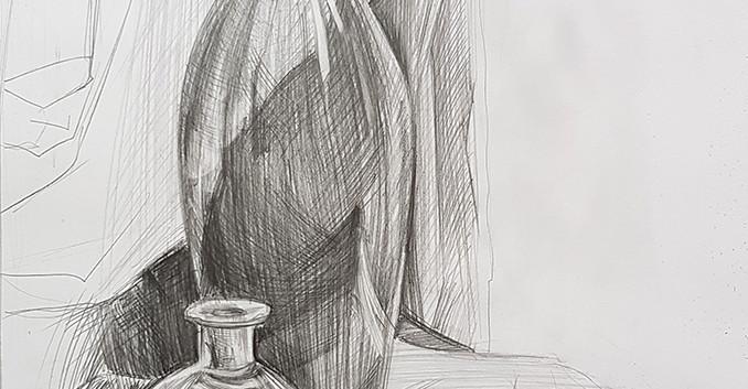 Натюрморт карандашом Newartintention