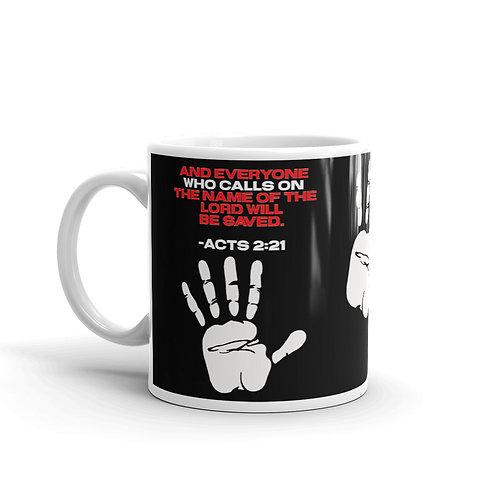 Call On the Name Mug