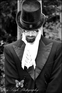 Dracula themed shoot