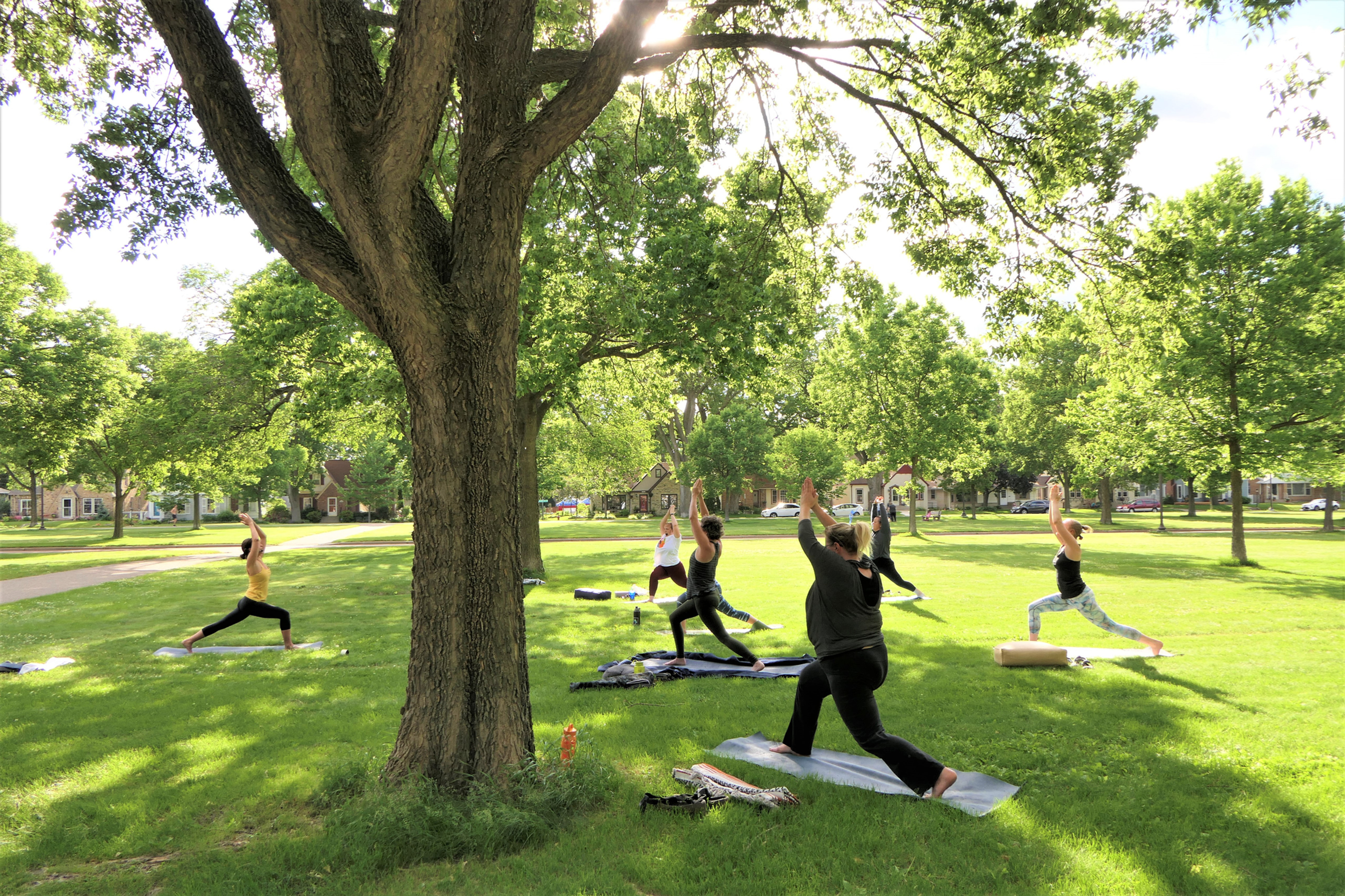 Outdoor Sunday Slow Flow Yoga: Laurie