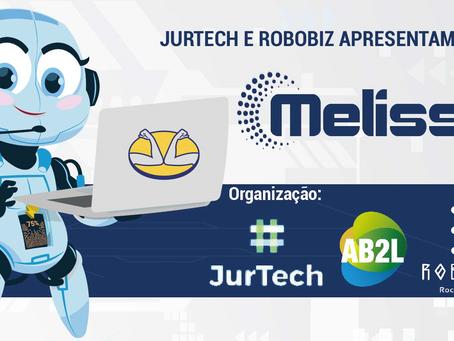 """Webinário: Jurtech e Robobiz apresentam o case """"Melissa"""""""