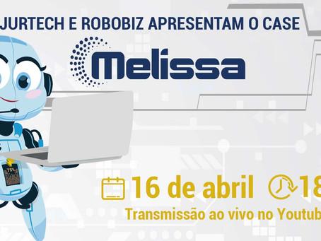 """Jurtech e Robobiz apresentam o Case """"Melissa"""" - automações de demandas PROCON - Mercado Livre"""