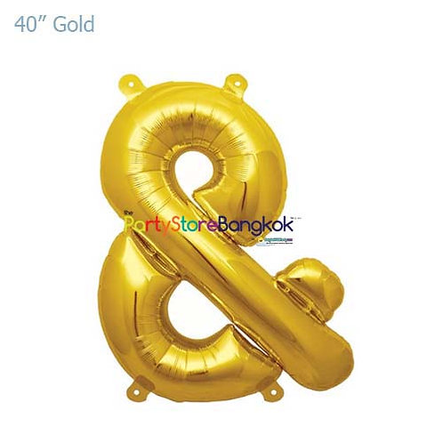 "40"" Gold & Foil Balloon"