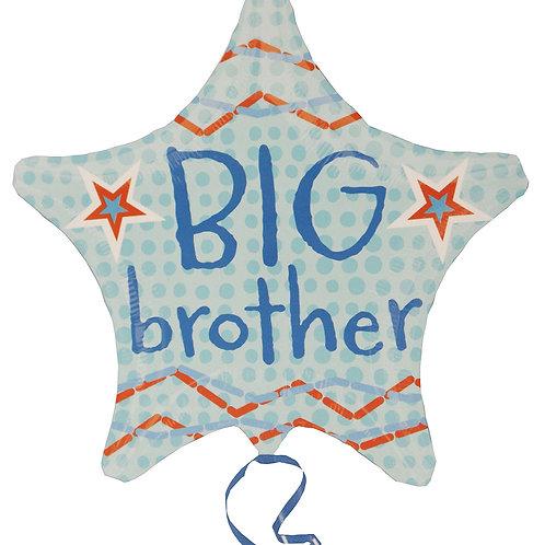 Big Brother Star Shape Foil Balloon