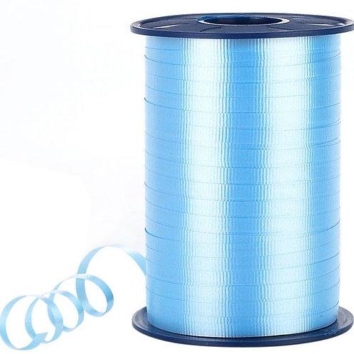 Light Blue Smooth Curling Ribbon