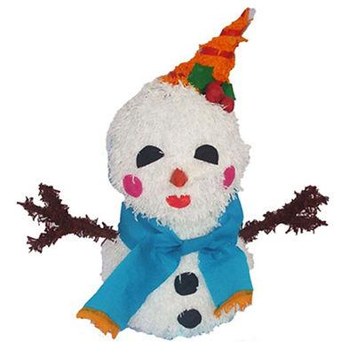 Snowman Piñata