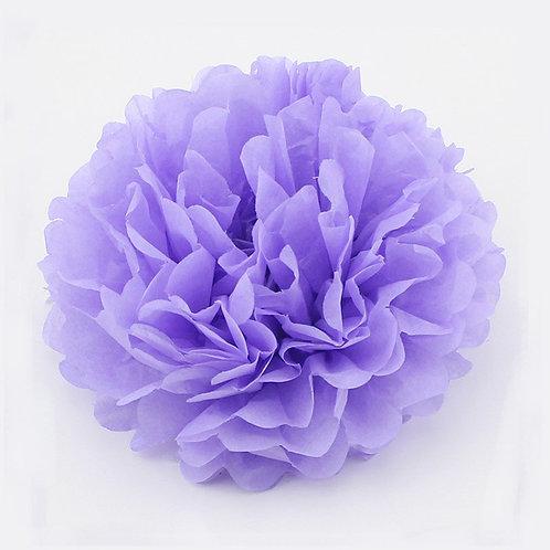 Lavender Tissue Paper Pompom