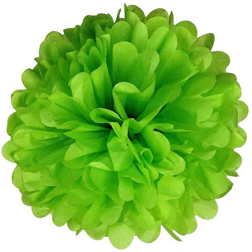 Light Green Tissue Paper Pompom