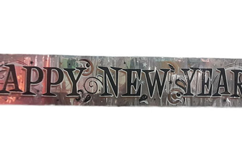 Happy New Year Foil Banner