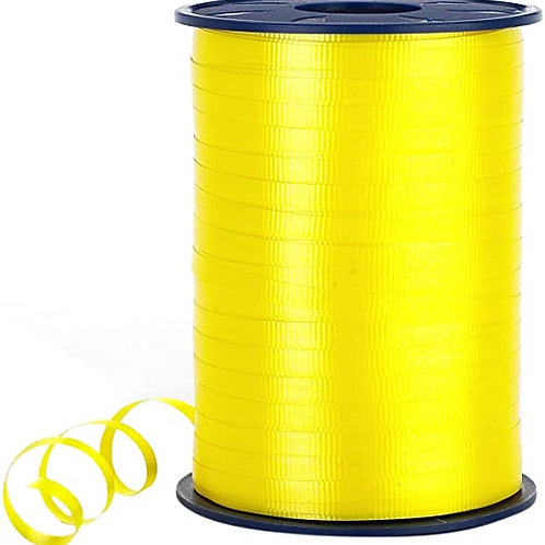 Yellow Smooth Curling Ribbon