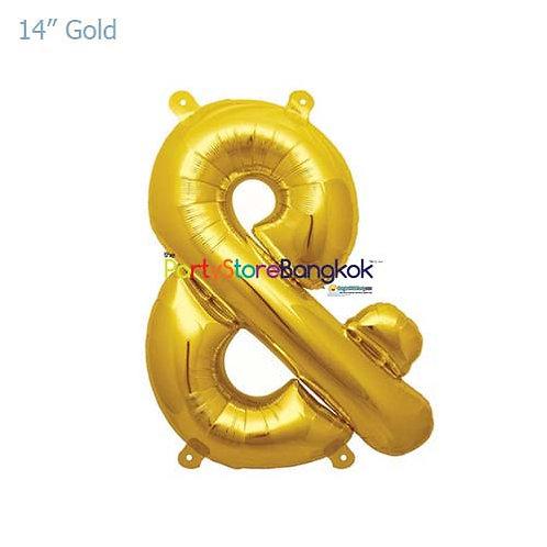 "14"" Gold & Foil Balloon"