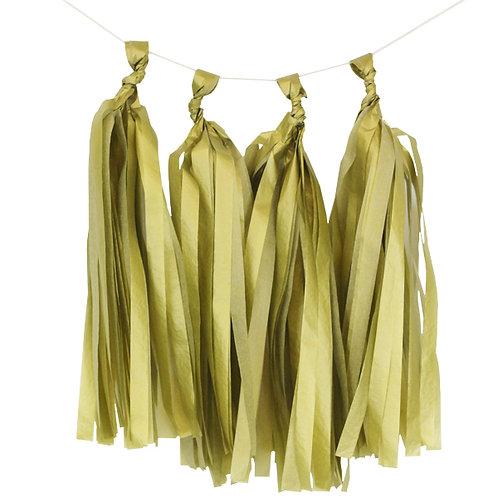 Gold Tassel Fringe