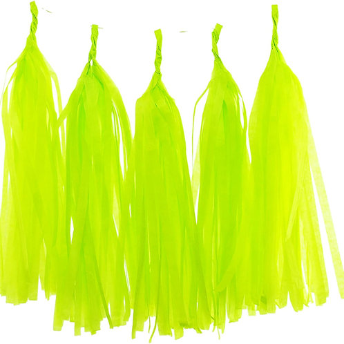 Lime Green Tassel Fringe