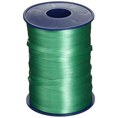 Green Smooth Curling Ribbon