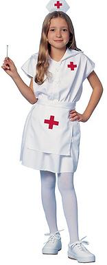 Red Cross Nurse Kids Costume
