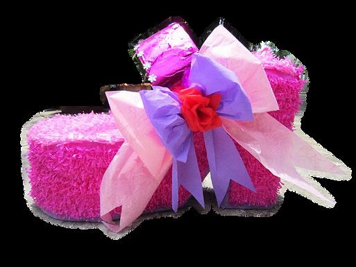 Pink Shoe Piñata