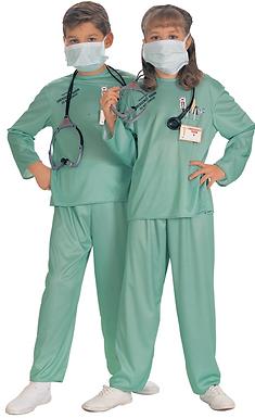 Nurse ER Kids Costume