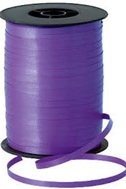 Dark Purple Smooth Curling Ribbon