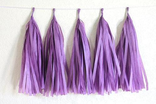 Dark Purple Tassel Fringe