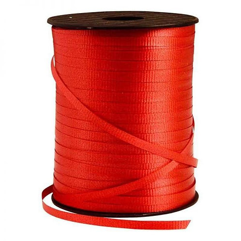 Red Smooth Curling Ribbon