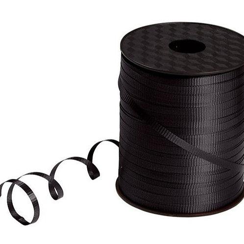 Black Smooth Curling Ribbon