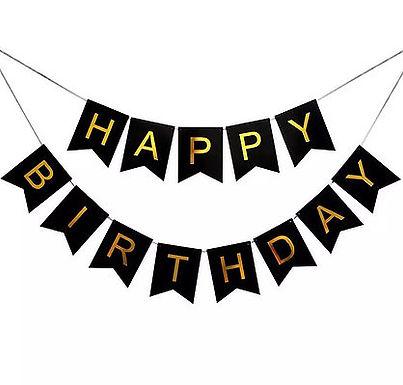 Happy Birthday Banner Sign