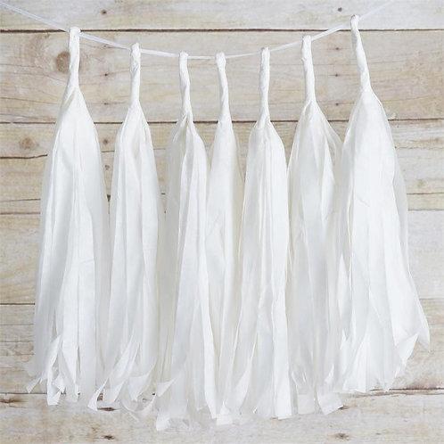 White Tassel Fringe