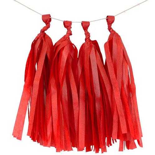 Red Tassel Fringe