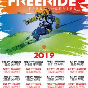 Nouveau design pour le site des French Freeride Series