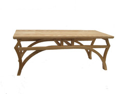 steam bent coffee table