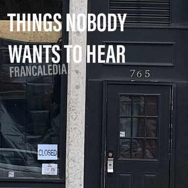 83 Things Nobody Wants To Hear COVER (So