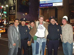 111502 Times square the guys and the cop